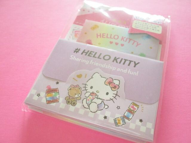 Photo1: Kawaii Cute Volume Mini Letter Set Sanrio Original *Hello Kitty (92275-7)