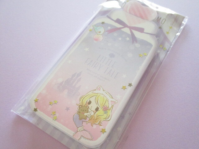 Photo1: Kawaii Cute Die-Cut Memo Pad Little Fairy Tale Q-LiA *Little Mermaid (44398)