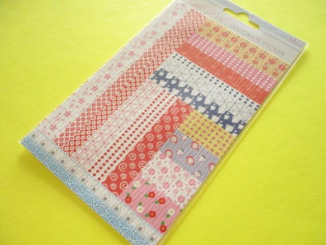 Photo1: Beautiful Lumiēre Decorate Stickers Sheet S&C Co *No.CHW7
