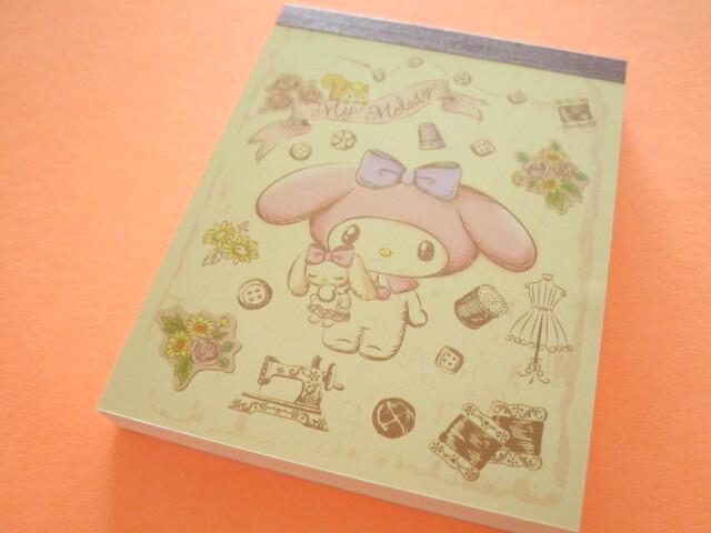 Photo1: Kawaii Cute Mini  Memo Pad Sanrio *My Melody (Antique Doll)