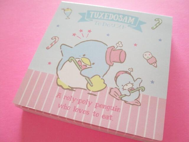 Photo1: Kawaii Cute Mini To Do List Memo Pad Sanrio *Tuxedo Sam (Sweets Dance)