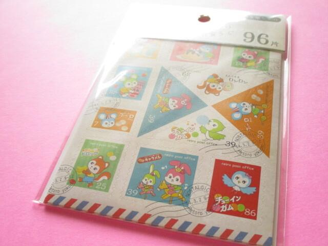 Photo1: Kawaii Cute Masking Stick Seals Stickers Set Kyowa *Retro Alley (62-914)
