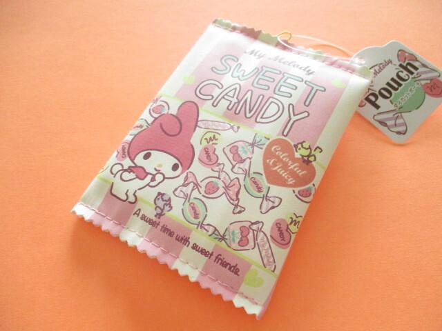 Photo1: Kawaii Cute My Melody Mini Pouch Sanrio *Sweet Candy (32691)