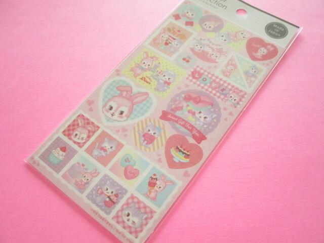 Photo1: Kawaii Cute Stickers Sheet Gaia *Lovely Stamp (466275)