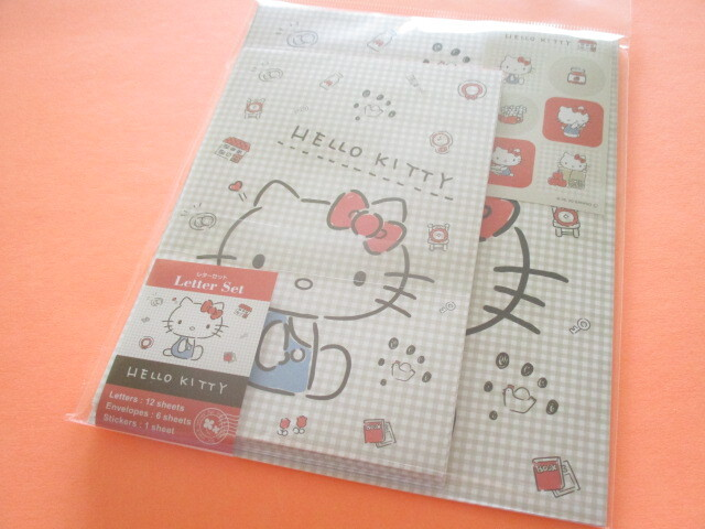 Photo1: Kawaii Cute Letter Set Sanrio *Hello Kitty (暮らし)