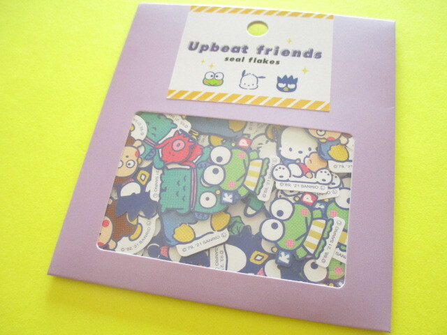 Photo1: Kawaii Cute Upbeat friends Sticker Flakes Sack Sanrio *Sanrio Characters (741849)