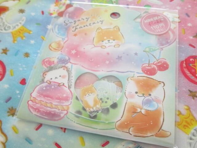Photo1: Kawaii Cute Sticker Flakes Sack Crux *Sugary Fantasy (473104)