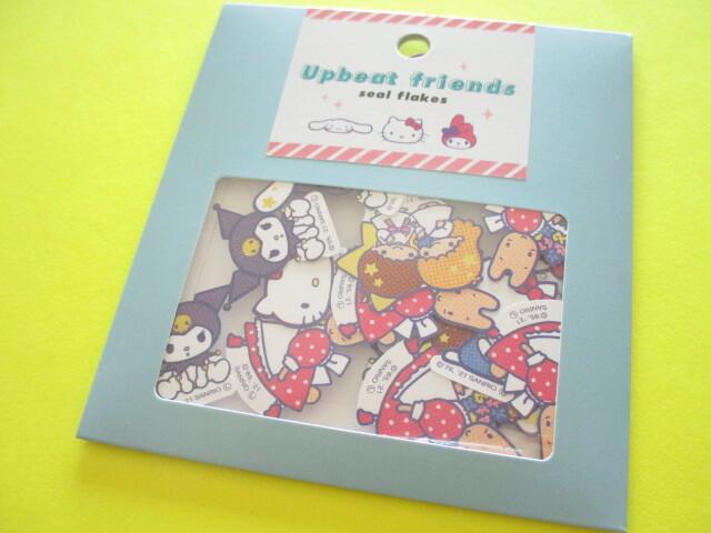 Photo1: Kawaii Cute Upbeat friends Sticker Flakes Sack Sanrio *Sanrio Characters (741848)