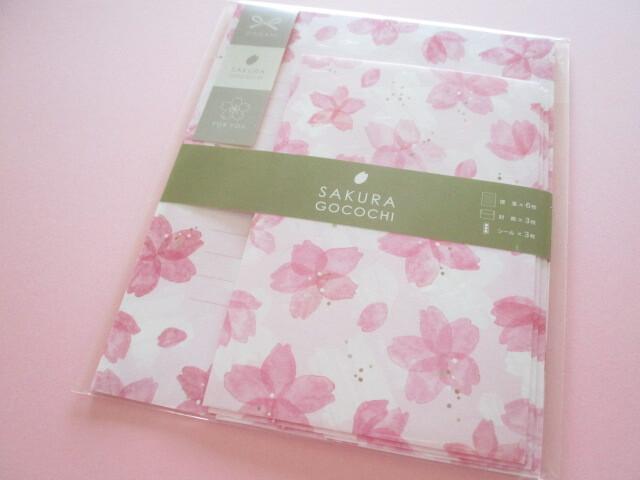 Photo1: Beautiful Cherry blossom Letter Set Kyowa *Sakura Gocochi (42-066 A)