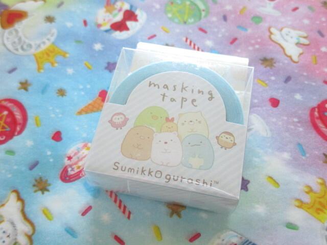 Photo1: Kawaii Cute Mini Masking Tape/Deco Tape Sticker San-x *Sumikkogurashi (SE50005)