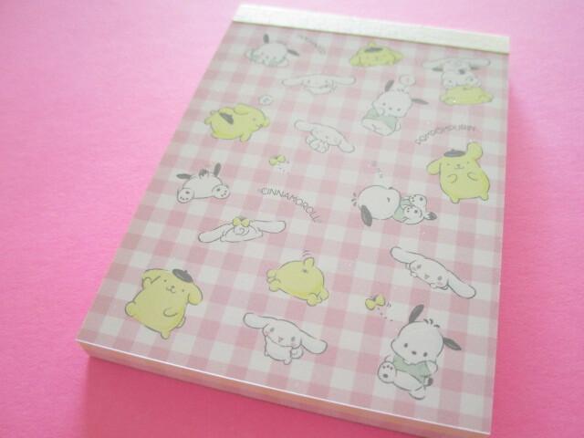 Photo1: Kawaii Cute Mini Memo Pad Sanrio Characters Sanrio *チラシ (S2830450)