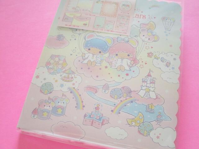 Photo1: Kawaii Cute Regular Letter Set Sanrio Original *Little Twin Stars (41010-1)