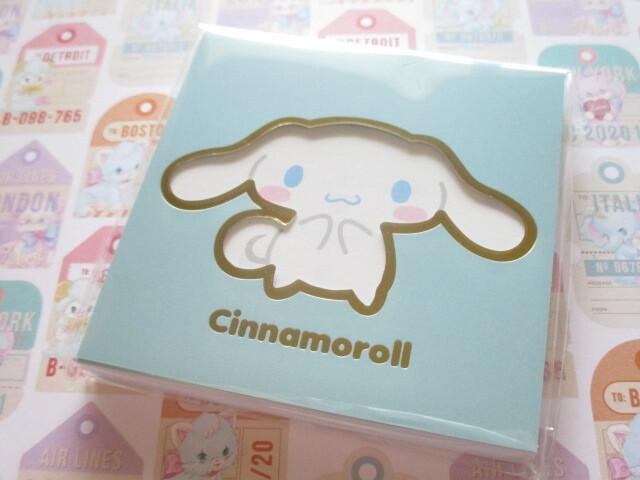 Photo1: Kawaii Cute Square Memo Pad Sanrio Origimal *Cinnamoroll (41037-3)