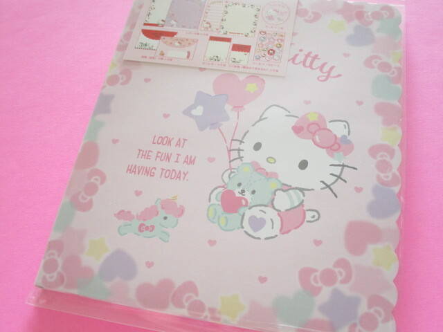Photo1: Kawaii Cute Regular Letter Set Sanrio Original *Hello Kitty (40996-1)