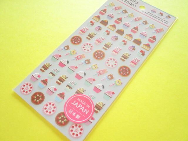 Photo1: Kawaii Cute Stickers Sheet Gaia *Sweets Choco 2 (465599)