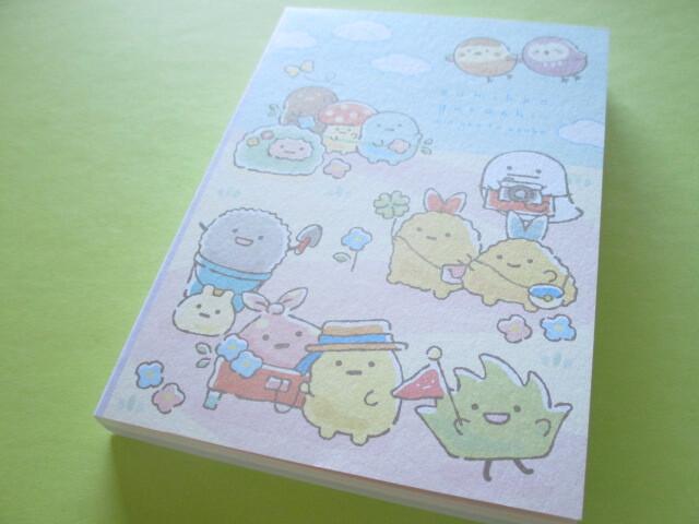 Photo1: Kawaii Cute Large Memo Pad Sumikkogurashi San-x *minikko to asobo (MH04201)