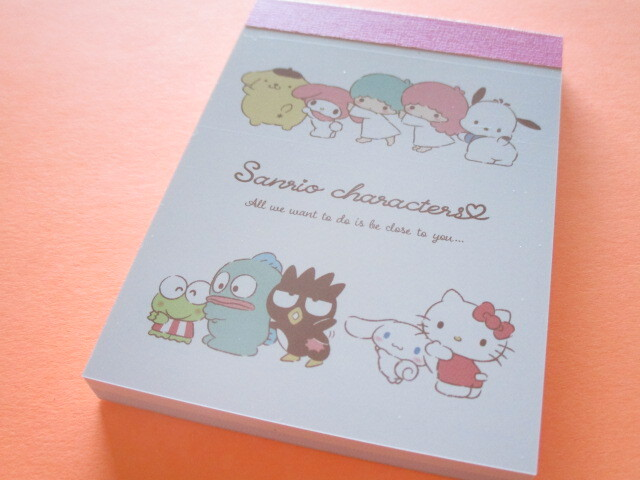 Photo1: Kawaii Cute Mini Memo Pad  Sanrio *Sanrio Characters (300081)