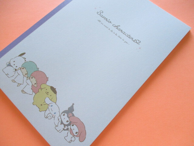 Photo1: Kawaii Cute B5 Notebook Sanrio *Sanrio Characters (300078)