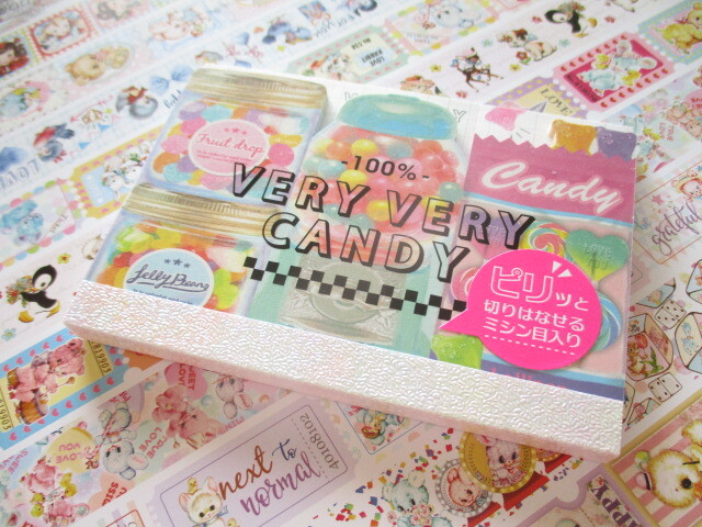 Photo1: Kawaii Cute Piri Piri Mini Memo Pad Q-LiA *Very Very Candy (40425)
