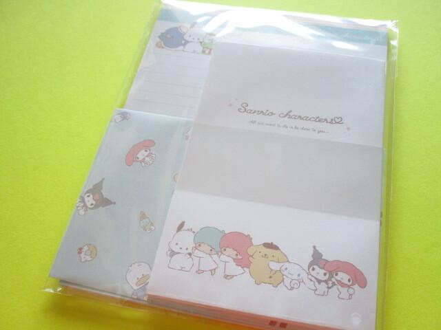 Photo1: Kawaii Cute Sanrio Characters Letter Set Cute Model *かまってきゅん (300474)