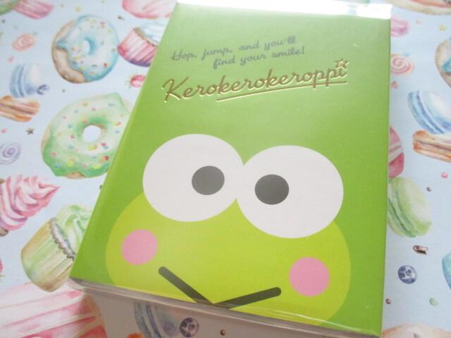 Photo1: Kawaii Cute Patapata Medium Memo Pad Sanrio Original *Kerokerokeroppi (58502-5)