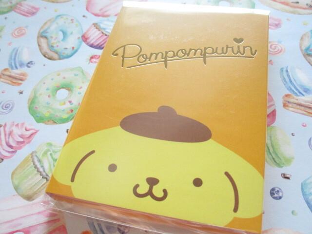 Photo1: Kawaii Cute Patapata Medium Memo Pad Sanrio Original *POMPOMPURIN (58478-9)