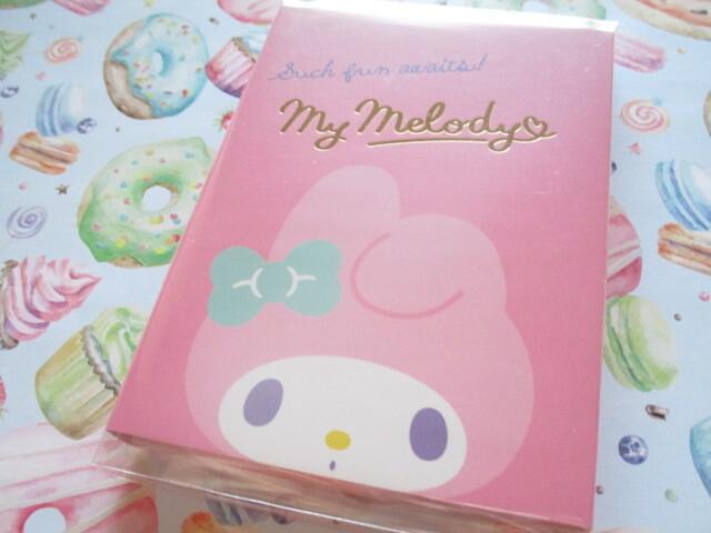 Photo1: Kawaii Cute Patapata Medium Memo Pad Sanrio Original *My Melody (58436-3)