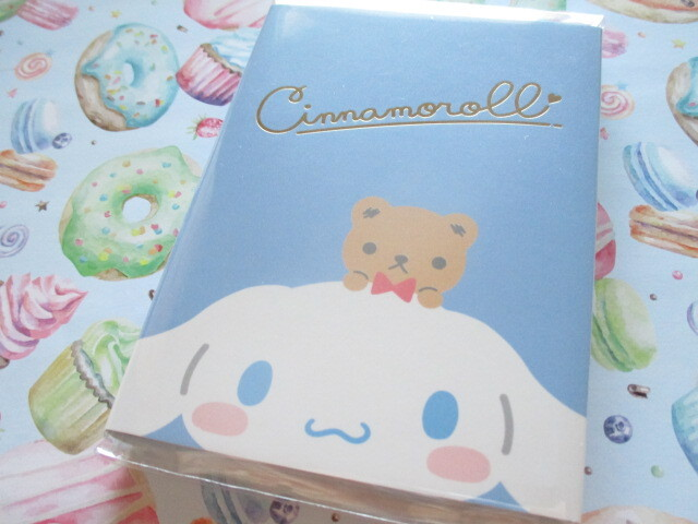 Photo1: Kawaii Cute Patapata Medium Memo Pad Sanrio Original *Cinnamoroll (58445-2)