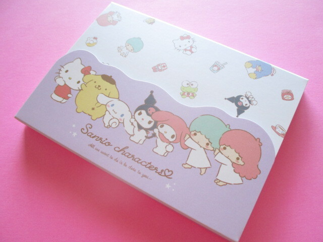 Photo1: Kawaii Cute Sanrio Characters Large Memo Pad Cute Model *かまってきゅん (300492)