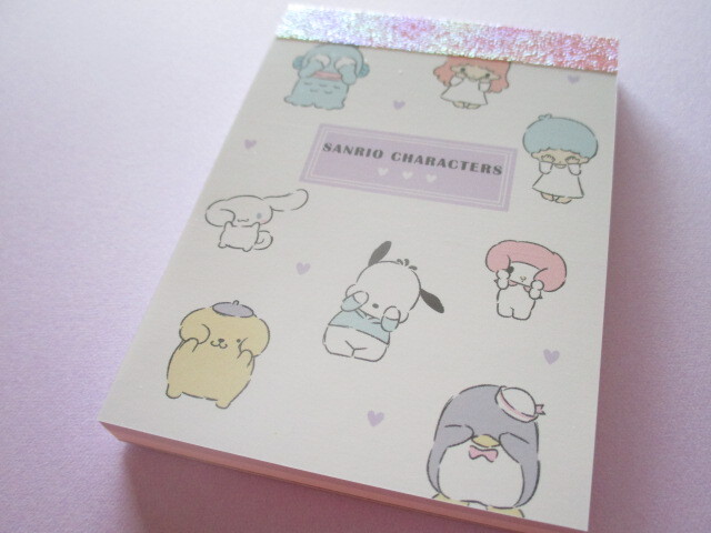 Photo1: Kawaii Cute Mini Memo Pad  Sanrio *Sanrio Characters (101480)