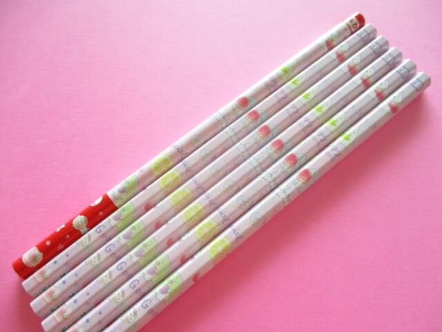 Photo1: 6 pcs Kawaii Cute Wooden Pencils Set San-x *Sumikkogurashi (PN03603)