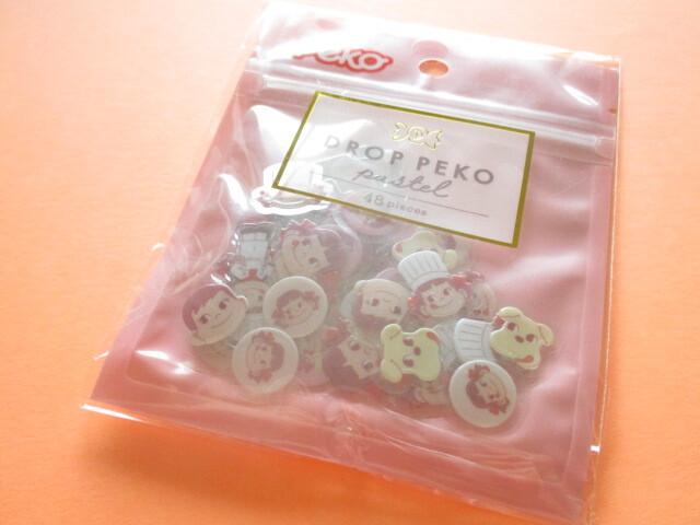Photo1: Kawaii Cute Drop Peko Sticker Flakes Sack Fujiya *Peko-chan (102087)