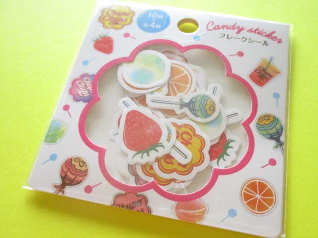 Photo1: Kawaii Cute Sticker Flakes Sack Lec *Chupa Chups (31917)