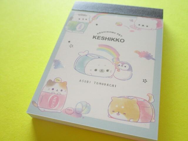 Photo1: Kawaii Cute Mini Memo Pad Crux *Keshikko (102565)