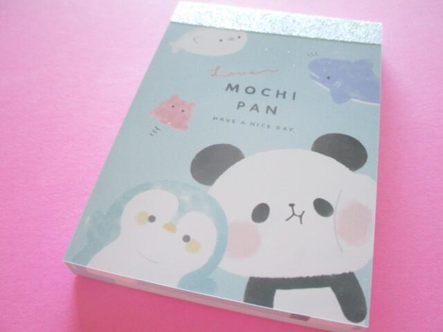 Photo1: awaii Cute Mini Memo Pad Mochi Mochi Panda Kamio Japan *Umimochi (202051)