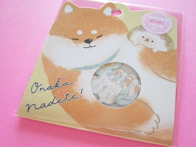Photo1: Kawaii Cute Sticker Flakes Sack Crux *Onaka Nadete (102669)