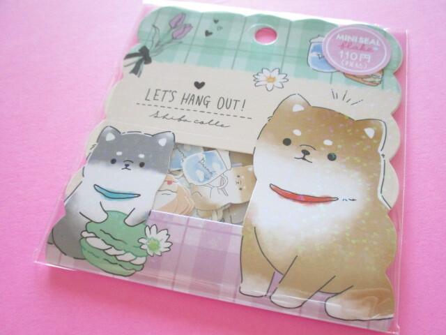 Photo1: Kawaii Cute Sticker Flakes Sack Crux *Let's Hang Out (102672)