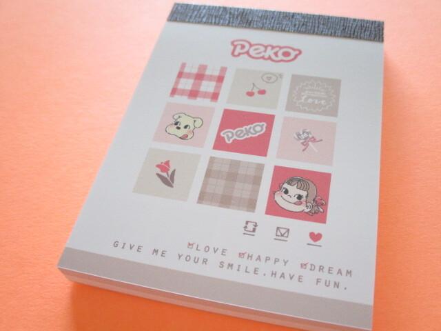 Photo1: Kawaii Cute Mini Memo Pad Kamio Japan *Peko-chan (102095)