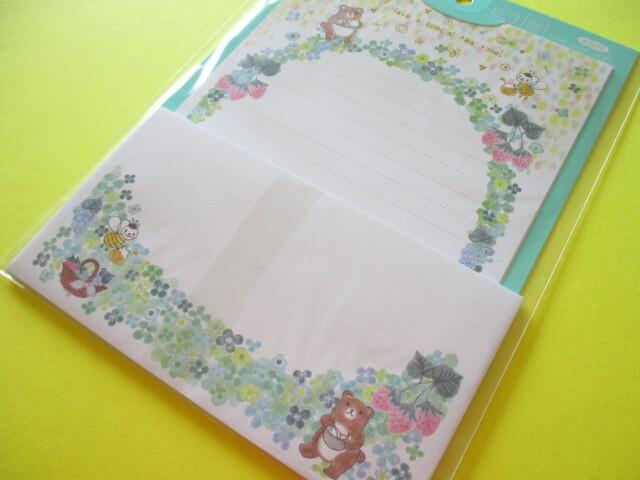 Photo1: Kawaii Cute  Letter Set Fantastic Forest Lemon Co. (887282-Green)