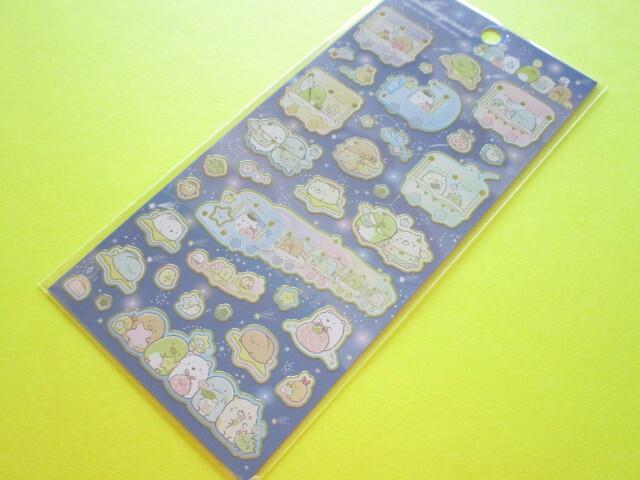 Photo1: Kawaii Cute Stickers Sheet Sumikkogurashi San-x *Starry Sky Walk (SE51001)
