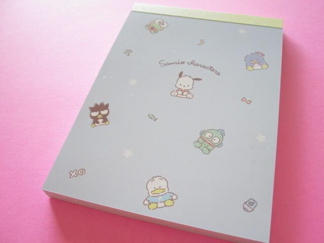 Photo1: Kawaii Cute Sanrio Characters Large Memo Pad Crux *Blue (102574)