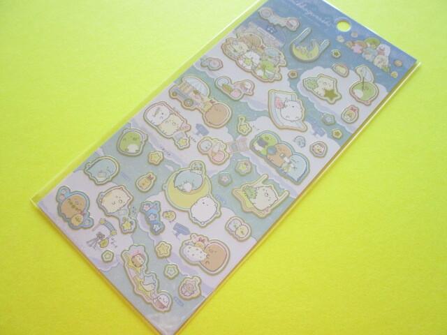 Photo1: Kawaii Cute Stickers Sheet Sumikkogurashi San-x *Starry Sky Walk (SE51002)