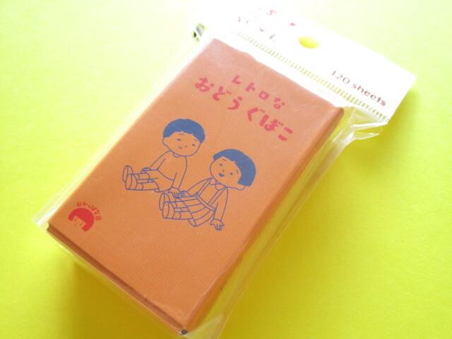 Photo1: Kawaii Cute Memo Pad in a Mini Box Kyowa *Retro Stationery (34-090)