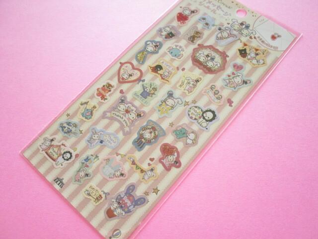 Photo1: Kawaii Cute Character Message Stickers Sheet San-x *Sentimental Circus (SE51605)