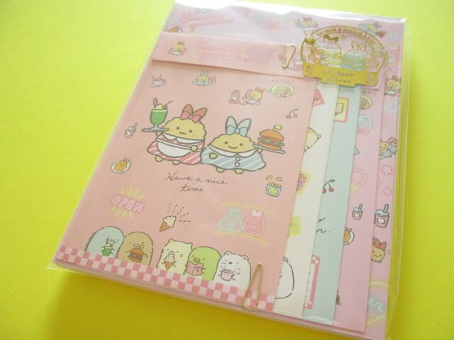 Photo1: Kawaii Cute Regular Letter Set San-x Sumikkogurashi *Shippo's Diner (LH73801)
