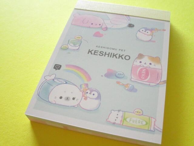 Photo1: Kawaii Cute Mini Memo Pad Crux *Keshikko (104251)