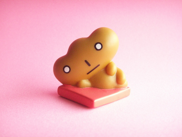 Photo1: Kawaii Cute Kogepan Mini Fugure Mascot Toy San-x *Creampan