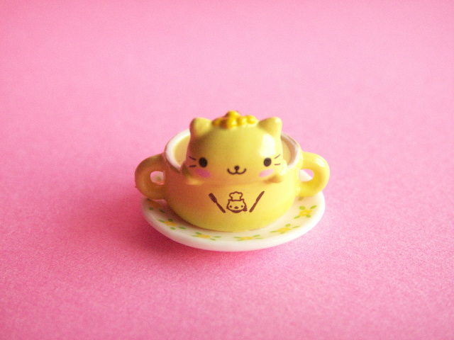 Photo1: Kawaii Cute Nyan Nyan Nyanko Restaurant Charm San-x *Corn Soup