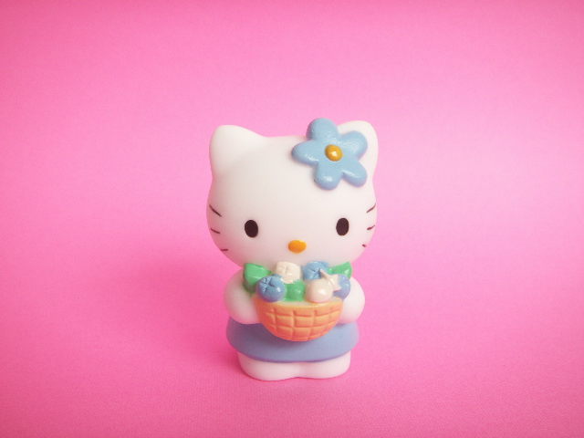 Photo1: Kawaii Cute Hello Kitty Mascot Doll Collection Japan Exclusive *Fruits Basket