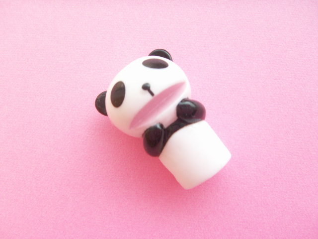 Photo1: Kawaii Cute Panda Pencil Toppers Decoration Novelty Japan A